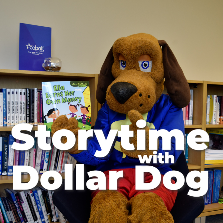 Storytime with Dollar Dog: Shanti Saves Her Money